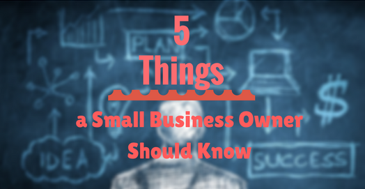 5 things small business owner